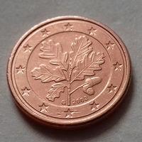 1 евроцент, Германия 2002 G