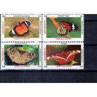 Бабочки на марках Бангладеш