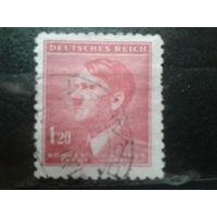 Богемия и Моравия 1942 фюрер 1,20к