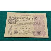 Старт с 1 рубля. 2000000 марок 1923 год.