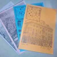 Шаховий Леополiс. Одним лотом 4 выпуска 2007-2008 гг на украинском (Шахматы и шахматисты)