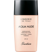 Тональная основа Guerlain Lingerie De Peau Aqua Nude (оттенок 02N Clair Light)