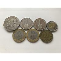 Кения набор 7 монет