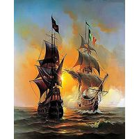 Набор для живописи 'Морское сражение''