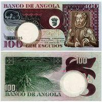 Ангола. 100 эскудо (образца 1973 года, P106, UNC)