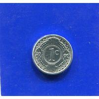 Антильские острова 1 цент 2000 UNC