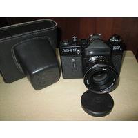 Фотоаппарат Зенит ЕТ,с объективом Гелиос 44-М4.