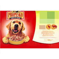 Propesko Pouch Dog Chicken&Lamb (курица и ягненок)  100гр корм для собак влажный