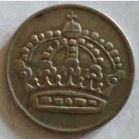 Швеция 50 эре 1957 серебро