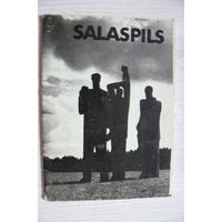 Комплект, Саласпилс; 1986, чистые, 12 открыток (размер 10*15).