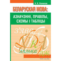 Беларуская мова: азначэннi, правiла, схемы i таблiцы