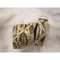 Ремень Змеиная кожа 1 метр