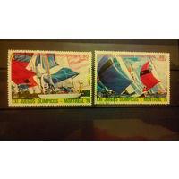 Транспорт, корабли, флот, яхты, марки, Экваториальная Гвинея, 1976