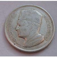 Марокко, дирхам, 1960, серебро
