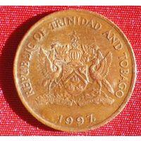 5 центов (Тринидад и Тобаго) 1997 / Райская птица