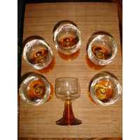 Стильные бокалы для вина Германия (6 шт)