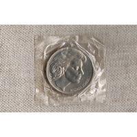 Германия Медаль 1979 в честь Милдред Шеель врача-онколога  (в запайке)