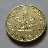 10 пфеннигов, Германия 1988 J