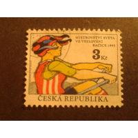 Чехия 1993 гребля