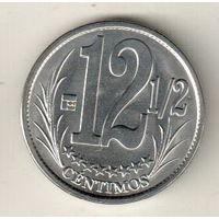 Венесуэла 12 1/2 сентимо 2007