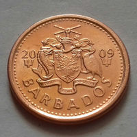 1 цент, Барбадос 2009 г., UNC