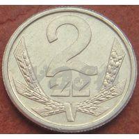 357**  2 злотых 1990 Польша