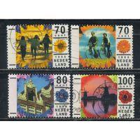 Нидерланды 1996 Праздники Отдых  Полная #1576-1579