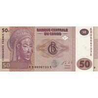Конго 50 франков 2013 (ПРЕСС)