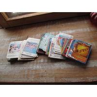Карточки разные. Много