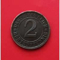 22-36 Германия, 2 пфеннига 1924 г.