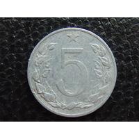 Чехословакия 5 геллеров 1953 г.
