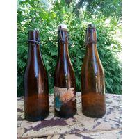 Бутылки лимонад Польша 20-е годы прошлого века