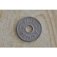Фиджи 1 пенни 1966