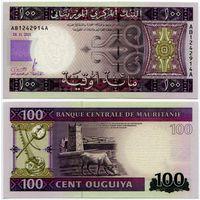 Мавритания. 100 угий (образца 2011 года, P16, UNC)