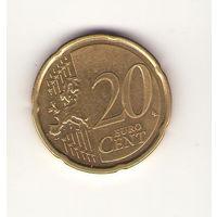 Эстония 20 евроцентов 2017 год