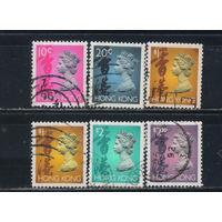 GB Колонии Гонконг 1992-3 EII Стандарт #654,660,664-5,701I
