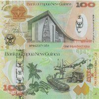 Папуа Новая Гвинея 100 кина образца 2008 года UNC p37