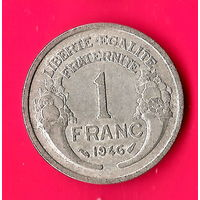 14-03 Франция, 1 франк 1946 г.