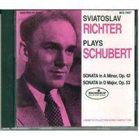 CD Sviatoslav Richter plays Schubert (1993)