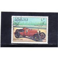 Лаос. Ми-753. Автомобиль Fiat S 57 / 14B. Серия: 19 Конгресс UPU (Всемирный почтовый союз).1984.