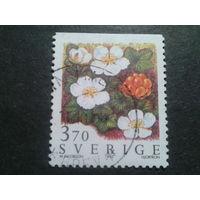 Швеция 1995 цветы