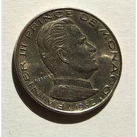 Монако 1 франк, 1982 5-5-20