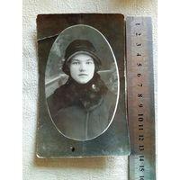 Фото Барышня в шляпе