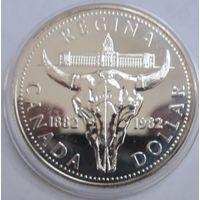 Канада, доллар, 1982, серебро
