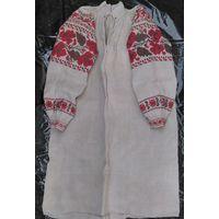 Сорочка домотканая льняная (рубашка, вышиванка), 1920-1930-е гг.