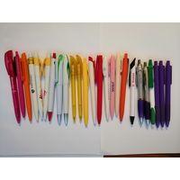 Шариковые ручки 12 штук, канцелярские