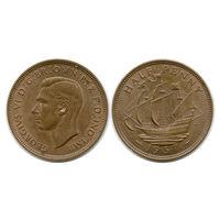 Великобритания. 1/2 пенни 1937 г.