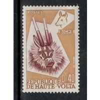 Верхняя Вольта /1960/ Африканское Искусство / Маска