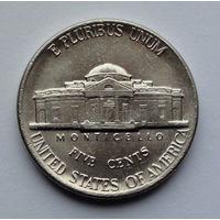 США 5 центов. 1994. D. Jefferson Nickel