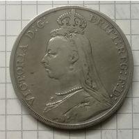 Британия 1 крона 1889г